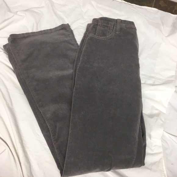 Not your daughters jeans gray corduroy, size 10